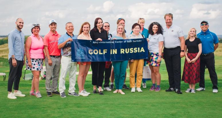 Иностранцев покорили отечественные гольф- поля и русское гостеприимство