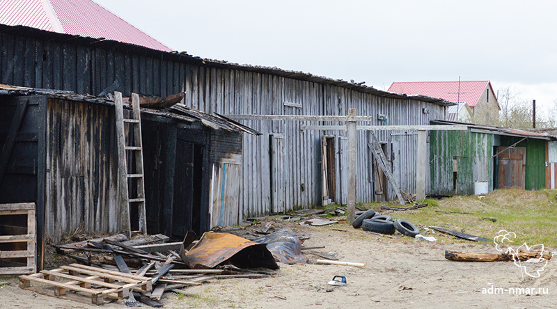 Временные постройки на территории Нарьян-Мара признаны незаконными