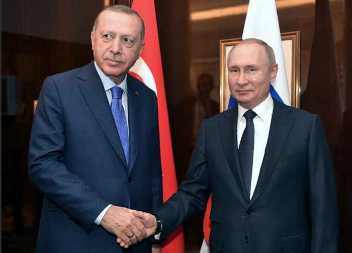 Глава РФ встретится с президентом Турции в начале марта