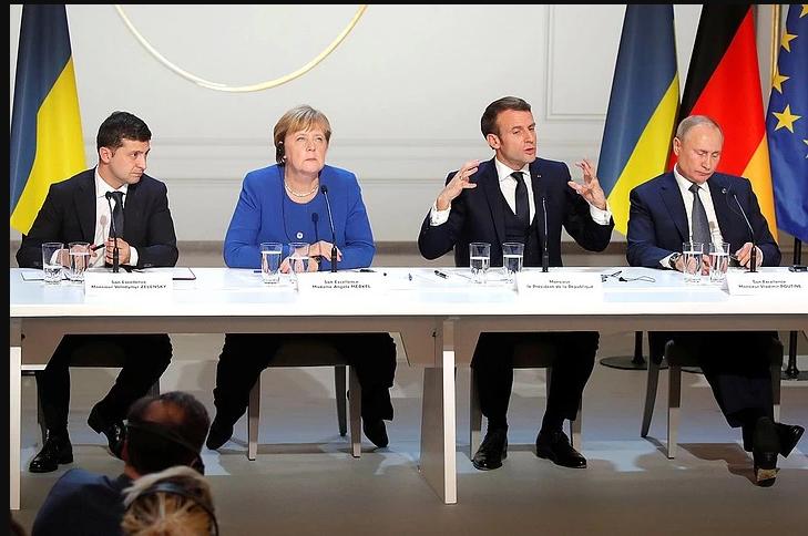 Россия считает, что Украина ставит встречу «нормандской четверки» под угрозу