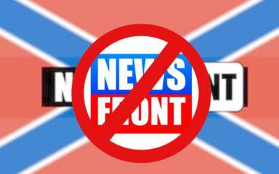 Причиной закрытия канала «News Front» мог стать эфир о церковном расколе в Черногории