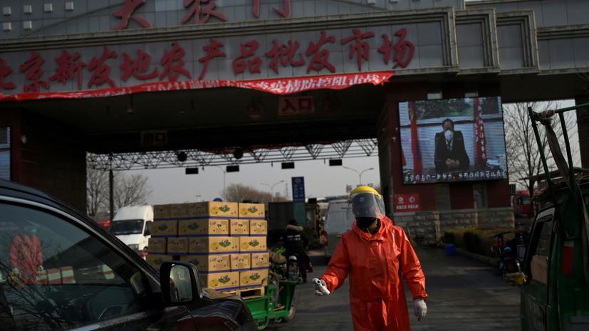 Китай может стать причиной второй волны коронавируса в России