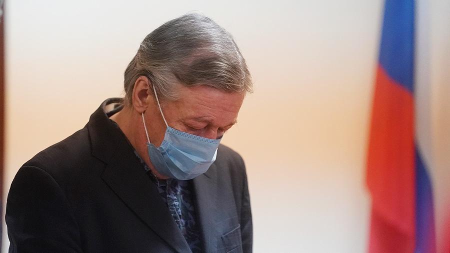 Ефремов обжалует приговор, вынесенный ему в суде