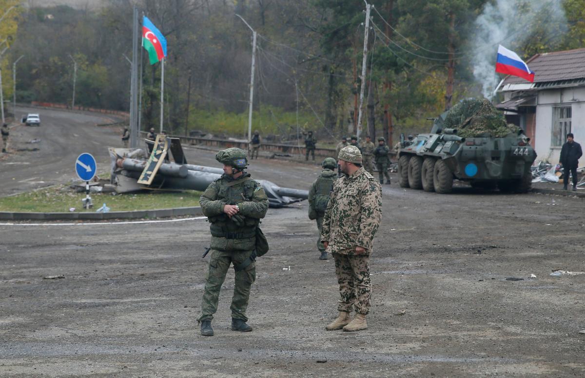 В Нагорном Карабахе будут использовать российских военных