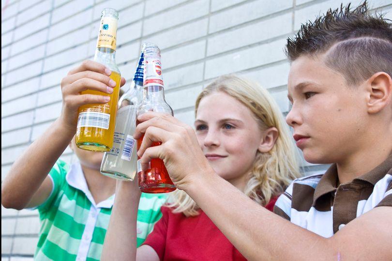 За склонение несовершеннолетних к употреблению спиртного могут начать штрафовать в десятикратном размере