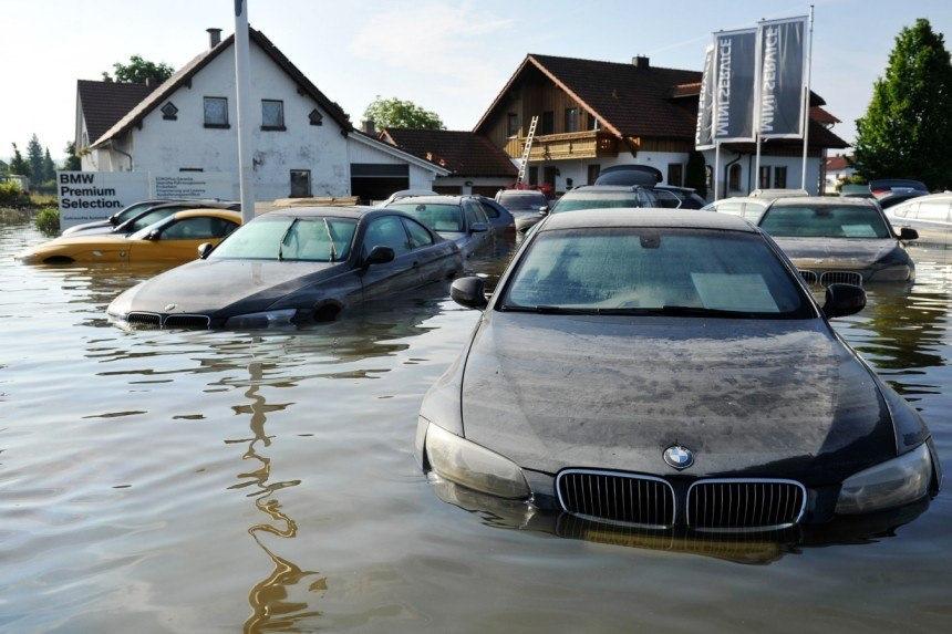 На российском авторынке могут появиться автомобили «утопленники»