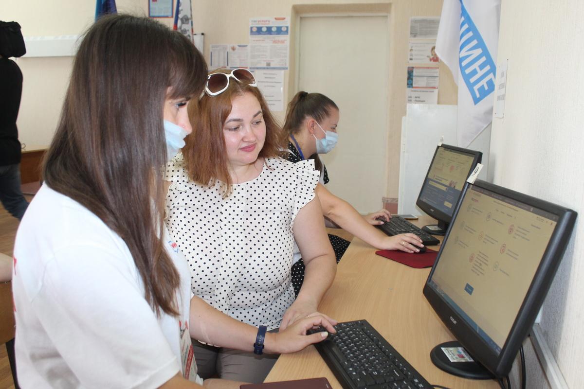 Жители ЛНР при онлайн-голосовании в ГД РФ смогут воспользоваться помощью инфоцентров