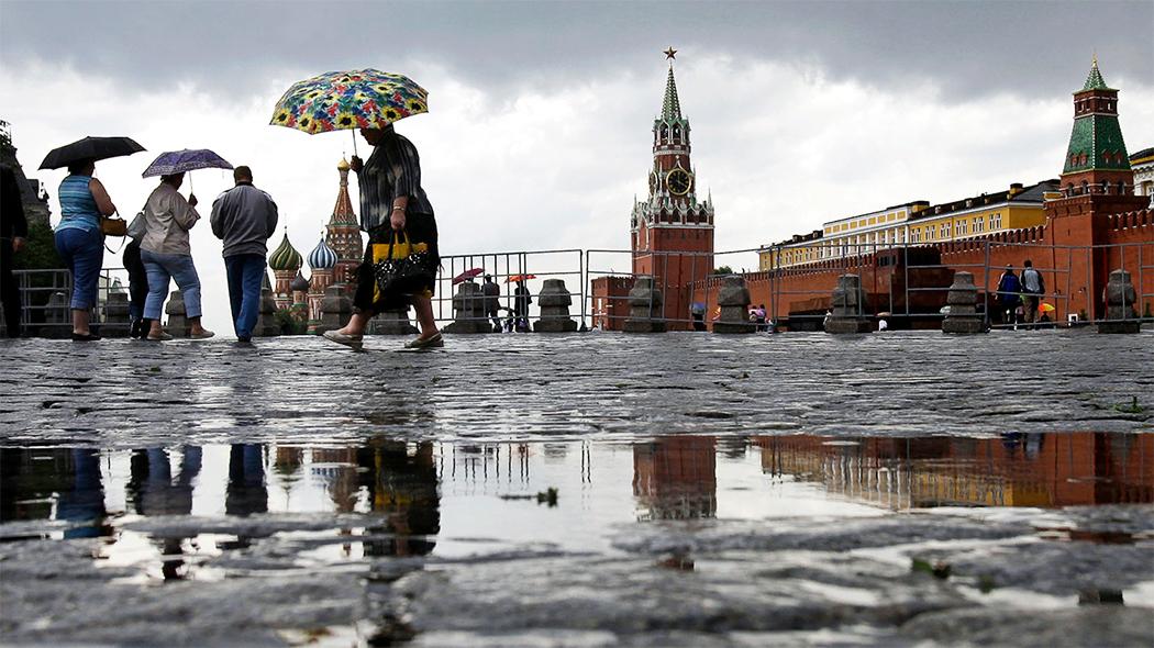 В Москве ожидаются затяжные дожди