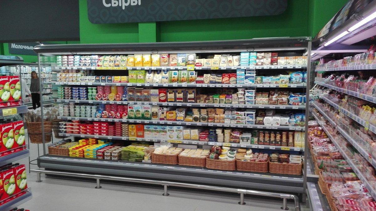 Продукты на полках супермаркетов могут получить цветовую маркировку