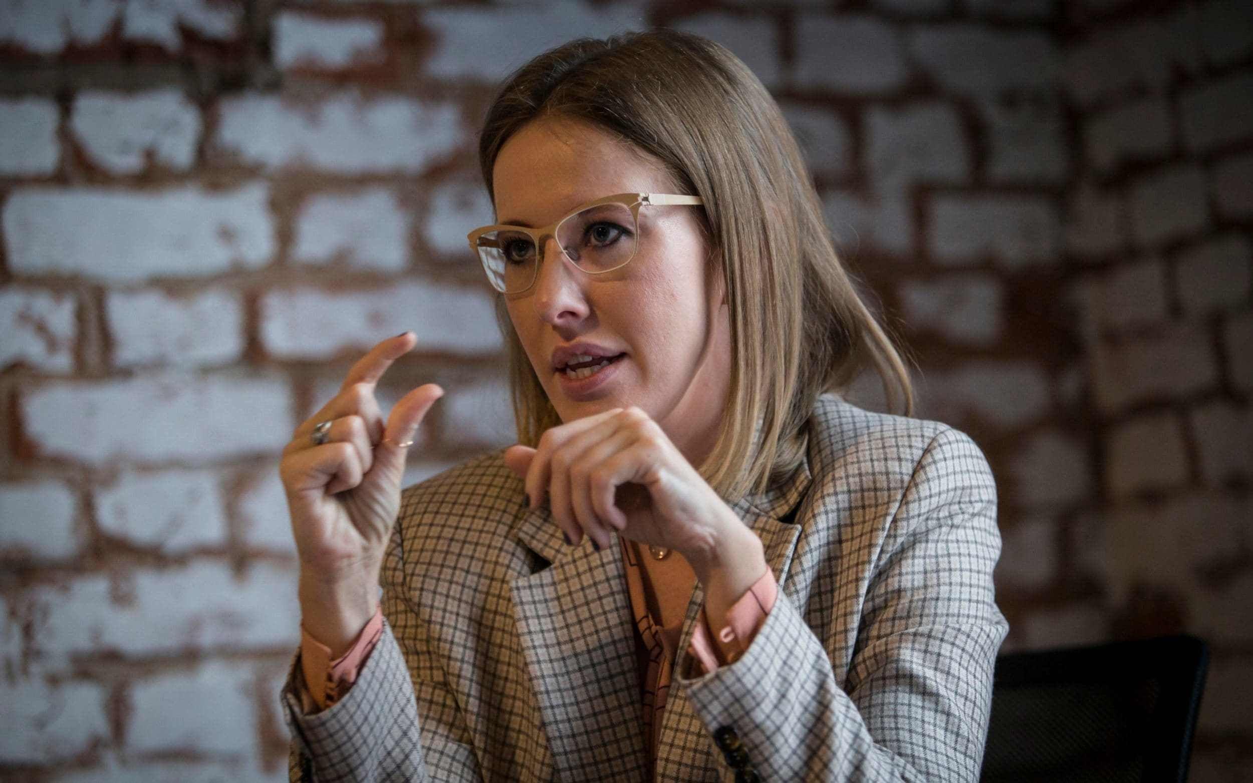 Ксения Собчак дала пояснение по ДТП с ее участием